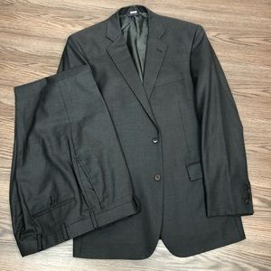 Brooks Brothers Charcoal Grey Suit 42L Long